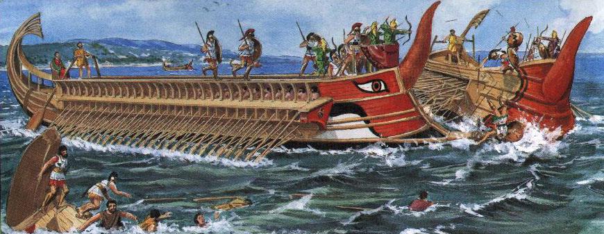 Mapa de la Ubicacion Greografica de Los Fenicios y sus Embarcaciones