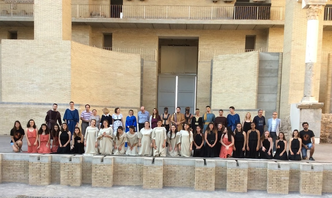 durante la semana del al de julio se ha llevado a cabo la v academia saguntina dirigida por jos luis navarro y organizada por