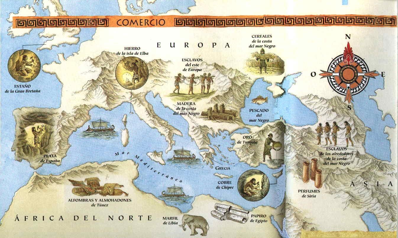 mapas del mundo antiguo en culturaclasicacom